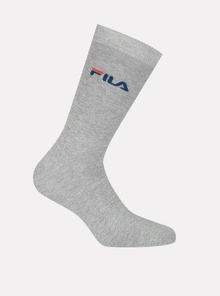 Šedé ponožky FILA