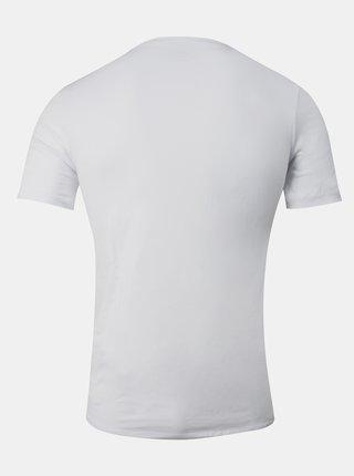 Bílé pánské basic tričko pod košili FILA