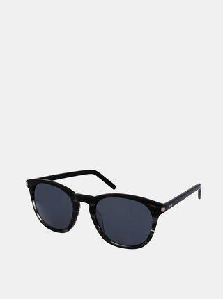 Šedo-čierne slnečné okuliare Crullé