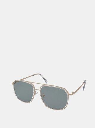 Sluneční brýle ve zlaté barvě Crullé