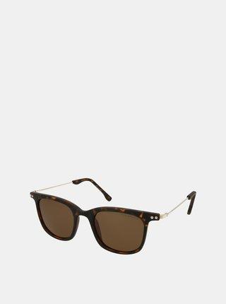 Hnedé slnečné okuliare Crullé