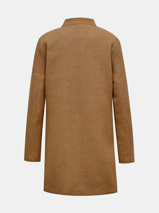 Hnedý kabát ONLY Soho