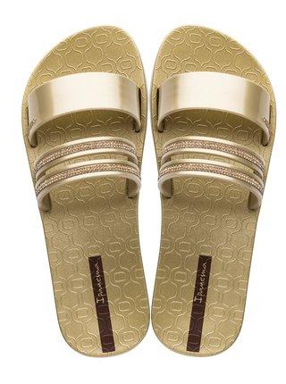 Ipanema zlaté pantofle New Glam Gold