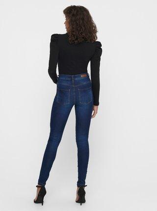 Tmavě modré skinny fit džíny Jacqueline de Yong New Nikki