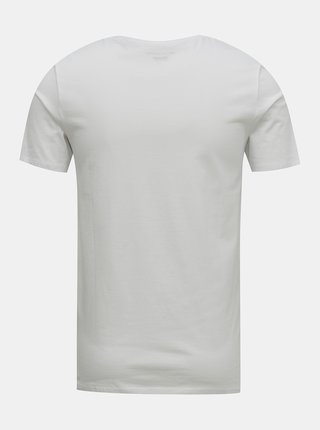 Biele tričko Jack & Jones Barista