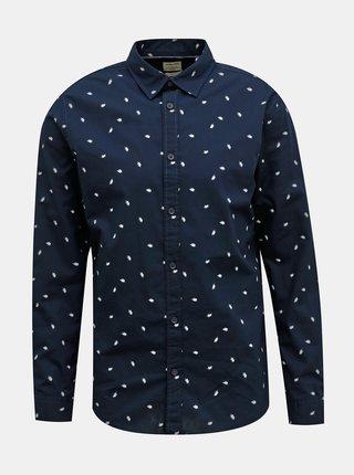 Tmavě modrá vzorovaná košile Jack & Jones Madison