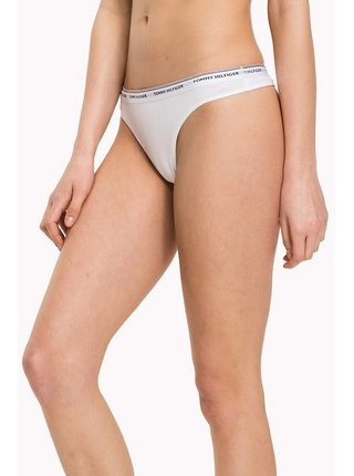 Tommy Hilfiger biely 3 pack táng 3P Thong