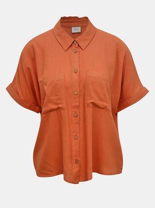Cihlová volná košile Jacqueline de Yong Cathy