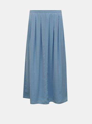 Modrá midi sukňa ONLY Sue