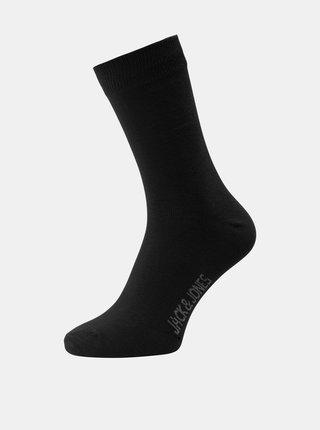 Sada desiatich párov čiernych ponožiek Jack & Jones Jens