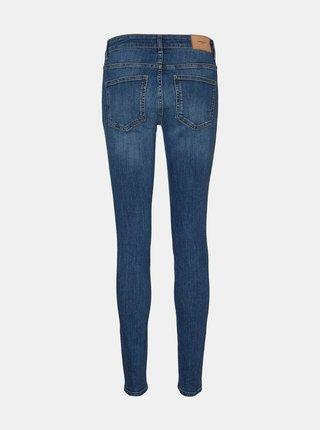 Modré slim fit džíny VERO MODA Ella