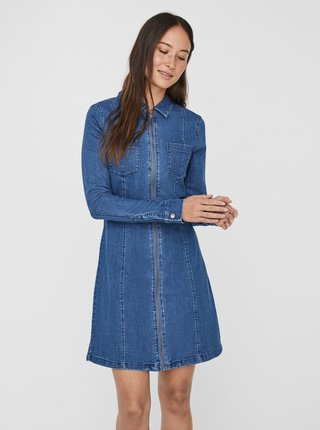 Modré džínové šaty Noisy May Lisa