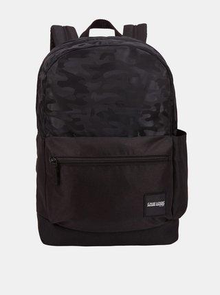 Černý vzorovaný batoh Case Logic Founder 26 l