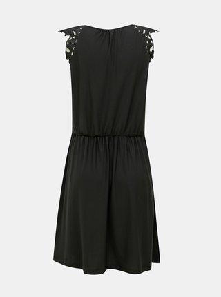 Černé šaty ONLY Silja