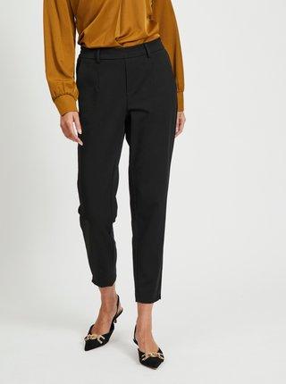 Černé slim fit kalhoty .OBJECT Lisa