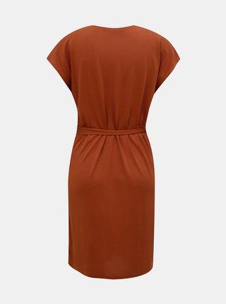 Hnedé šaty VERO MODA Beca