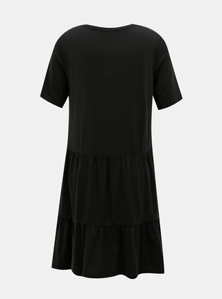 Čierne voľné šaty AWARE by VERO MODA Java