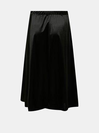 Černá midi sukně VERO MODA CURVE