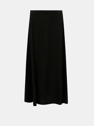 Černá maxi sukně VERO MODA Vivian