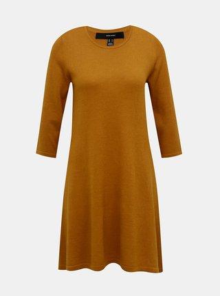 Hnedé šaty VERO MODA Felicity