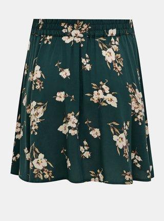 Zelená květovaná sukně VERO MODA