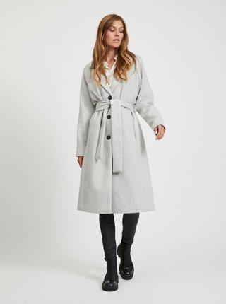 Šedý kabát s příměsí vlny .OBJECT Lena