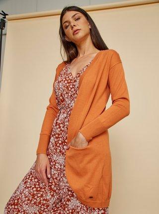 Oranžový dámský basic kardigan ZOOT Baseline Gita