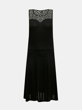 Černé šaty ONLY Nicole