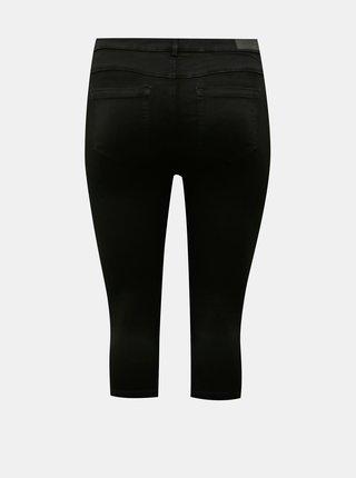 Černé 3/4 skinny fit džíny ONLY CARMAKOMA Augusta