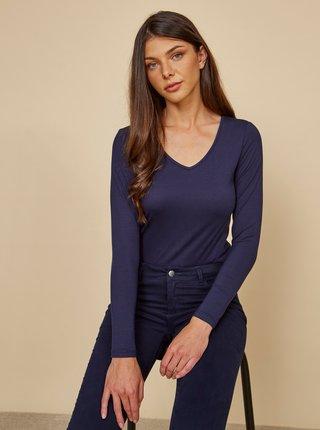 Tmavě modré dámské basic tričko ZOOT Baseline Tamara