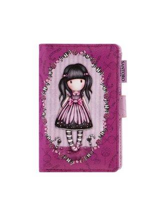 Santoro fialová peněženka Gorjuss Sugar and Spice Small Wallet