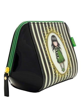 Santoro čierna kozmetická taška Gorjuss The Scarf