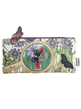 Disaster barevná peněženka Eyespy Butterfly