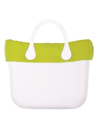 O bag zelený lem na telo Standard Puf Lime