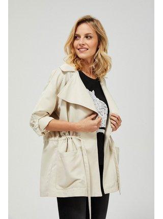 Moodo béžové bunda