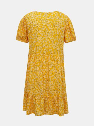 Žluté květované šaty TALLY WEiJL