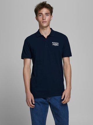 Tmavě modré polo tričko Jack & Jones Hero