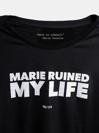 Černé dámské tričko ZOOT Original Marie Terezie