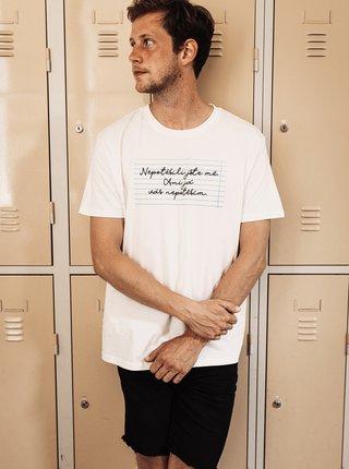 Biele pánske tričko ZOOT Original Nepotěšil jste mě