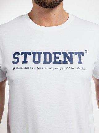 Biele pánske tričko ZOOT Original Student