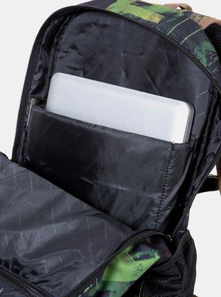 Čierny vzorovaný batoh Meatfly Basejumper