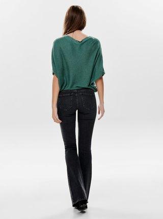Zelený volný svetrový top Jacqueline de Yong-New behave