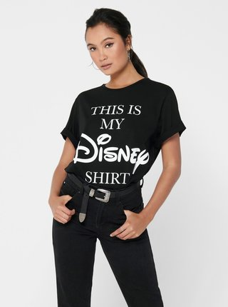 Černé tričko Jacqueline de Yong Molly
