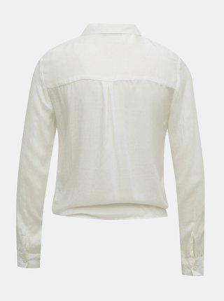 Biela košeľa so zaväzovaním TALLY WEiJL