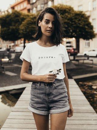 Bílé dámské tričko ZOOT Original pokora.