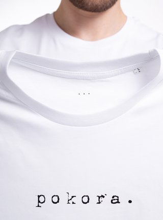 Biele pánske tričko ZOOT Original pokora.