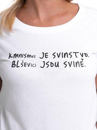 Bílé dámské tričko ZOOT Original Kmnismus