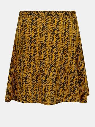 Oranžová vzorovaná sukně Noisy May Beagle