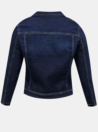 Tmavě modrá džínová bunda ONLY CARMAKOMA Wespa