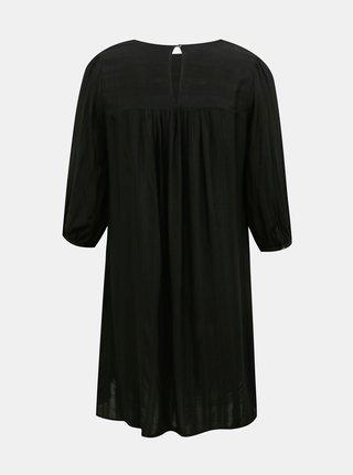 Černé šaty ONLY CARMAKOMA Remsa